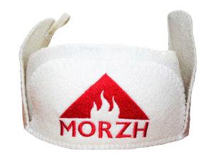 Headgear for tent sauna MORZH